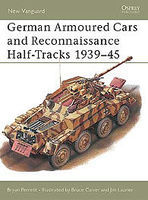 Osprey-Publishing German Armoured Cars and Reconnaissance Half-Tracks 1939-45 Military History Book #nvg29