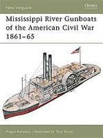 Osprey-Publishing Mississippi River Gunboats of the American Civil War 1861-65 Military History Book #nvg49