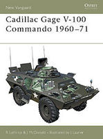 Osprey-Publishing Cadillac Gage V-100 Commando 1960-71 Military History Book #nvg52