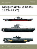Osprey-Publishing Kriegsmarine U-Boats 1939-45 2 Military History Book #nvg55