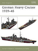 Osprey-Publishing German Heavy Cruisers 1939-45 Military History Book #nvg81