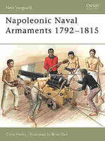 Osprey-Publishing Napoleonic Naval Armaments Military History Book #nvg90