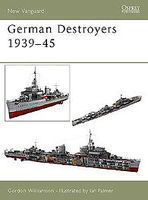 Osprey-Publishing German Destroyers 1939-45 Military History Book #nvg91