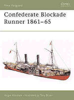 Osprey-Publishing Confederate Blockade Runner Military History Book #nvg92