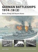 Osprey-Publishing German Battleships 1914-18 (2) Kaiser, Konig & Bayern Classes Military His #v167