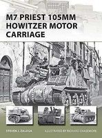 Osprey-Publishing M7 Priest 105mm Howitzer Motor Carriage Military History Book #v201