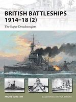 Osprey-Publishing British Battleships 1914-18 (2) the Super Dreadnoughts Military History Book #v204