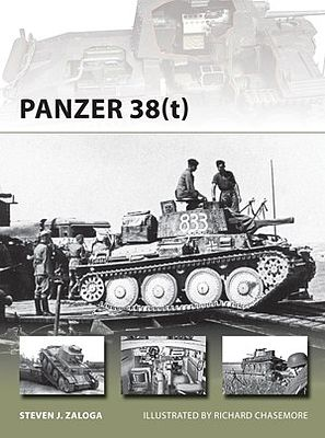 Osprey Publishing Panzer 38(t) -- Military History Book -- #v215