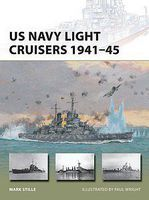Osprey-Publishing Vanguard - US Navy Light Cruisers 1941-45 Military History Book #v236
