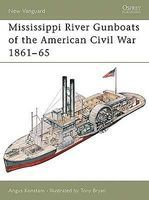 Osprey-Publishing Mississippi River Gunboats of American Civil War 1861-65 Military History Book #v49