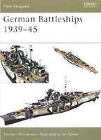 Osprey-Publishing German Battleships 1939-1945 Military History Book #v71