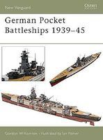 Osprey-Publishing German Pocket Battleships 1939-45 Military History Book #v75