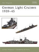 Osprey-Publishing German Light Cruisers 1939-1945 Military History Book #v84