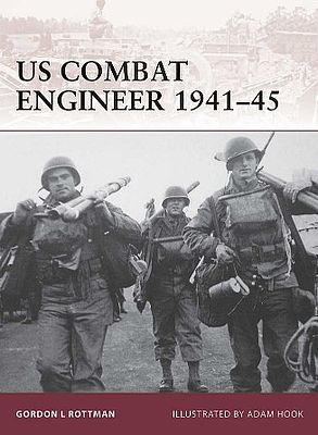 Osprey-Publishing Warrior US Combat Engineer 1941-45 Military History Book #w147
