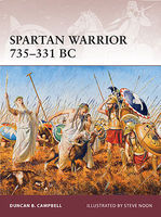 Osprey-Publishing Warrior Spartan Warrior 735-331BC Military History Book #w163