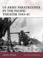 Warrior US Army Paratrooper in the Pacific Theater 1943-45 Military History Book #w165