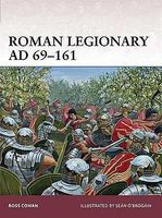 Osprey-Publishing Warrior Roman Legionary AD69-161 Military History Book #w166