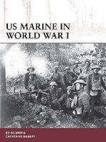 Osprey-Publishing Warrior- US Marine in WWI Military History Book #w178