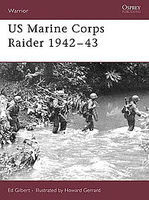 Osprey-Publishing US Marine Corps Raider 1942-43 Military History Book #war109