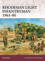Osprey-Publishing Rhodesian Light Infantryman 1961-80 Military History Book #war177