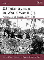 Osprey-Publishing US Infantry of WWII Pacific 1 Military History Book #war45
