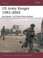 Osprey-Publishing US Army Ranger 1983-2002 Military History Book #war65