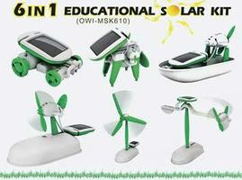OWI 6 In 1 Educational Solar Kit