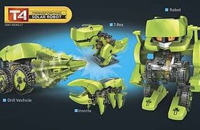 OWI T4 Transforming Solar Robot (New)