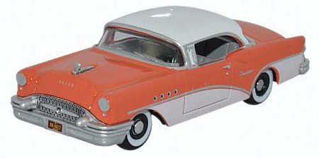 Oxford 1955 Buick Century - Assembled Coral, Polo White