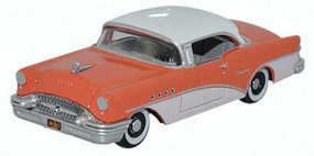 Oxford 1955 Buick Century Assembled Coral, Polo White