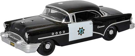 Oxford 1955 Buick Century - Assembled California Highway Patrol