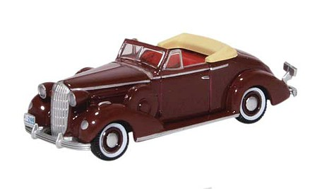 Oxford 1936 Buick Special Convertible - Assembled Cardinal Maroon
