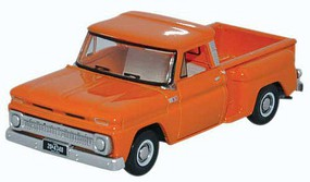 Oxford 1965 Chevrolet Stepside Pickup Truck Assembled Orange