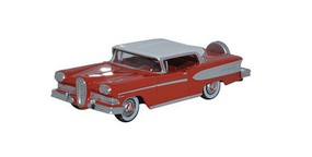Oxford 1958 Ford Edsel Citation Assembled Ember Red/Frost White