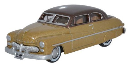 Oxford Mercury 8 1949 tan/beige - HO-Scale