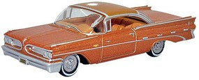 Oxford 1959 Pontiac Bonneville Assembled Copper