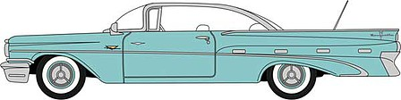 Oxford 1959 Pontiac Bonneville - Assembled Seaspray Green