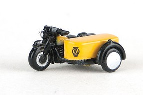Oxford BSA Motorcycle w/Sidecar Automobile Association N-Scale
