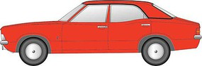 Oxford Ford Cortina Mark III Red N-Scale