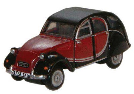 Oxford Citroen 2CV Charlston Blk - N-Scale