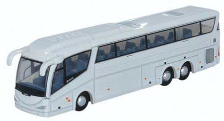Oxford Scania Irizar PB Bus - Assembled White - N-Scale