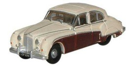 Oxford Jaguar Mark IX Crm/Marn N-Scale