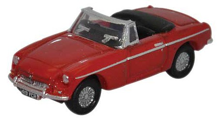 Oxford MG MGB Tarten Red - N-Scale