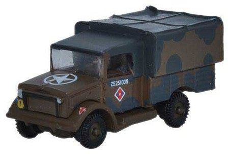 Oxford Bedford MWD - Assembled WWII - N-Scale