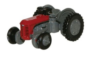 Oxford Ferguson TE Tractor red N-Scale