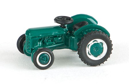 Oxford Ferguson TE Farm Tractor - Assembled Green - N-Scale