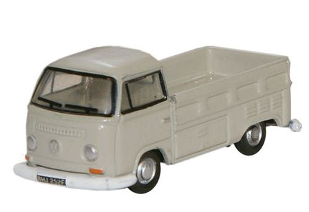 Oxford VW Bay-Wndw P/U Lght Gry - N-Scale