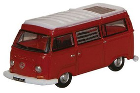 VW Camper Van Red/Wht - N-Scale