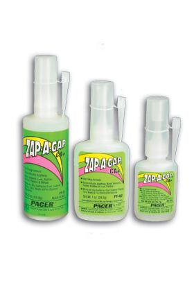Pacer Glues 435 PT04 Zap-A-Gap CA+ 1/4 oz -- Hobby and Craft CA Super Glue -- #pt04