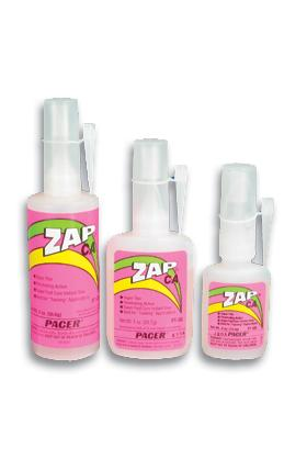 Pacer Glues Zap CA 1/4 oz